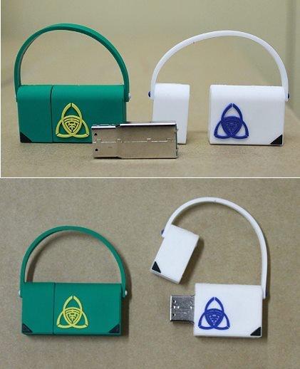 創意、可愛-小書包隨身碟。(圖片來源:翻攝台南女中合作社臉書)