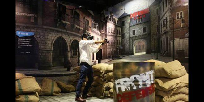 槍林彈雨極速狂飆 全台第一座VIVELAND虛擬實境樂園