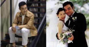 劉青雲和老婆郭藹明結婚18年,感情恩愛令人羡。(合成圖,圖片提供:翻攝劉青雲、新浪微博)