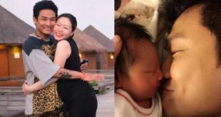 杜德偉和李曉冰在2012年結婚,夫妻生活美滿恩愛,今年10月兩人喜獲麟兒。(合成圖,圖片來源:翻攝杜德偉微博)