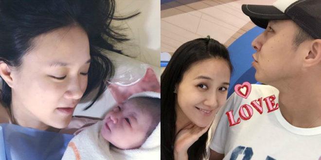 何妤玟在2012年結婚,今年國慶日當天產下第二胎「呱呱」。(合成圖,圖片提供:翻攝何妤玟 Winnie Ho臉書)