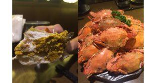 林大哥自信地說:「送來的螃蟹都是活的啊,直接清蒸就好吃到不行,蟹黃也超肥美!」(照片由店家提供)