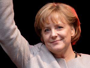 德國總理梅克爾為難民廣開大門,在國際間廣受好評。(圖片來源/翻攝自維基)