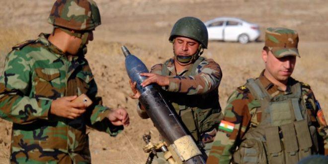 美、伊及庫德族聯軍整頓軍備 ,為收復摩蘇爾作準備。(圖片來源/翻攝自RadioFreeEurope)