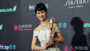 連俞涵以《一把青》獲新進演員獎。(圖片來源:梁浩文攝)