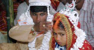 許多印度家庭為了聘金,會將幼女嫁出,使得該國童婚比例高達47%。(圖片來源/翻攝自Amnesty International USA)