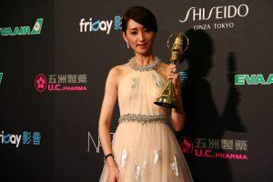 戲劇節目女主角獎由柯佳嬿獲得。(圖片來源:梁浩文攝)