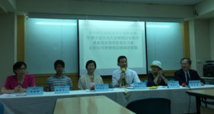 對於日前彰化縣議員黃玉芬的「不應將多元性別納入國中小課綱」提案,護家盟表達支持。  圖片來源:馮紹恩攝