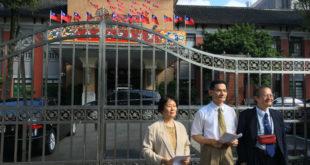 民進黨立委24日上午表示將推動同性婚姻草案的修法,護家盟下午召開記者會表示反對。  圖片來源:馮紹恩攝
