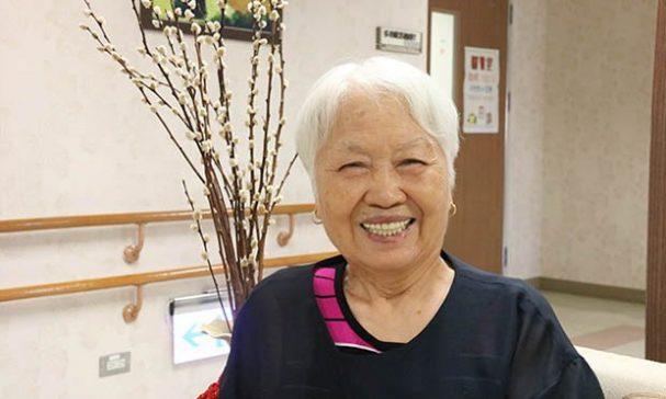 87歲的徐高英華奶奶認為年長者也可以活得很精采。(謝婷婷攝)