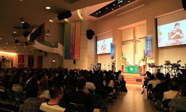 參與晚會民眾441人,現場座無虛席。(照片由台灣走出埃及輔導協會提供)