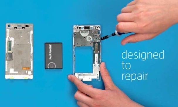 第二代公平手機,除了使用無衝突區原料,手機更是設計成活動元件,可單獨替換損壞元素而不用換整隻手機。(照片摘自stakeholder)