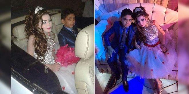 童婚惹爭議!埃及12歲男童娶11歲表妹
