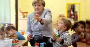 德國今年生育率攀升,報告指出,去年湧入的難民婦女貢獻不少。(照片摘自衛報)