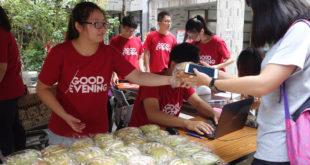 第18屆元智麵包節,今年為響應世界糧食日,不僅投入資助兒童計畫,更期待募得捐款幫助全球飢童。(照片由台灣世界展望會提供)