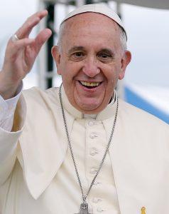 教宗方濟各關心全球急難問題,深得民心。(圖片來源/翻攝自維基)