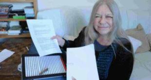 翠絲的26張文字稿,在鑑識小組協助之下順利復原了。(圖片來源:http://www.themarysue.com/)