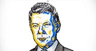 哥倫比亞總統桑托斯因致力終結52年的內戰,獲得2016年諾貝爾和平獎。(圖片來源/諾貝爾官網)