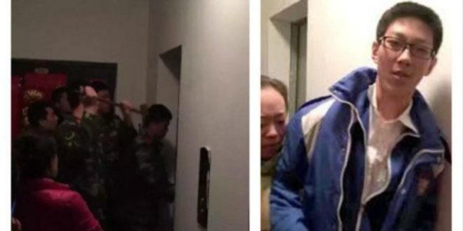 陸中學生受困電梯5小時 淡定讀書寫作業後獲救