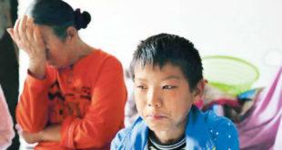 年僅11歲罹患血癌的石路遙,想起就醫歷程仍忍不住辛酸落淚。(圖片來源:http://orientaldaily.on.cc/)