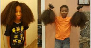 湯瑪士為了幫助癌童,留了2年的長髮。(圖片來源:Amber Lynne/Twitter、http://fashion.ifeng.com/)