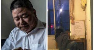 陳思13年來於長江橋上救起無數自殺者,還租房建起心靈驛站(圖右),提供心理諮詢。(合成圖/圖片來源/翻攝自鳳凰網站)
