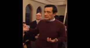 同性婚姻議題近日在台灣社會掀起一波波討論,前總統馬英九在台北時間20日參訪美國聖母大學時也談及此事。(圖片來源:翻攝youtube)