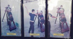 新加坡有7名男學生涉嫌偷拍校內6名女老師裙底風光,案發之後,涉案的男學生被被處以極具爭議的「鞭刑」。(圖片來源:翻攝網路,示意圖)