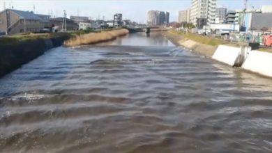 Photo of 311餘震!7.4強震今晨襲日本 驚見「逆流川」現象