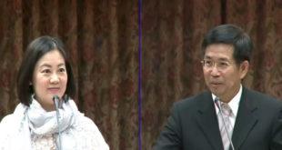 民進黨立委吳思瑤表示,台灣霸凌的通報案件一年僅百餘件,甚至逐年下降,對比日本一年通報上萬件,根本太少。  圖片來源:影片截圖