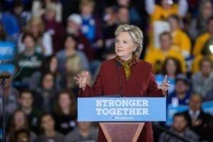 有人分析,希拉蕊會輸,實為她所屬的民主黨太驕傲。(圖片來源/翻攝自Hillary Clinton臉書)