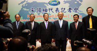 宋楚瑜也強調,他出席APEC與所有人都見過面,但是「沒答應任何事,也沒交換」。(翻攝臉書)