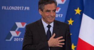 費雍以黑馬之姿當選代表法國共和黨競選明年總統。(圖片來源/翻攝自François Fillon臉書 )