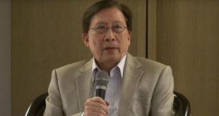 文化總會會長劉兆玄22日表示,即日起請辭會長職務。  圖片來源:影片截圖