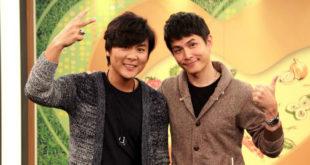 孫協志(右)和王仁甫侃侃而談兩人的「患難兄弟情」。(圖片來源:年代)