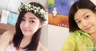 陳妍希日前在微博更新近況,放上清爽的短髮照。(合成圖,圖片提供:翻攝陳妍希 Michelle臉書、微博)