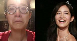 Janet勇敢分享在2個月前拍攝的私密影片,揭露憂鬱症過往。(合成圖,圖片提供:翻攝Janet Hsieh 謝怡芬臉書)