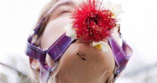 生態性愛愛好者常將花 、草等大自然元素作為配件 。(圖片來源/翻攝自網路)