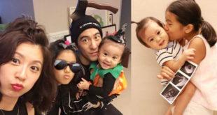 賈靜雯育有2個女兒,日前又宣布懷孕喜訊,為家裡再添1位女娃。(合成圖,圖片提供:翻攝賈靜雯AlyssaChia臉書)