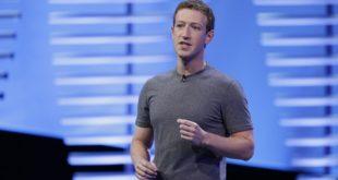 臉書執行長祖克柏指出,民眾懷疑臉書上的假消息影響美大選選情,是非常瘋狂的想法。(圖片來源/翻攝自npr網站)