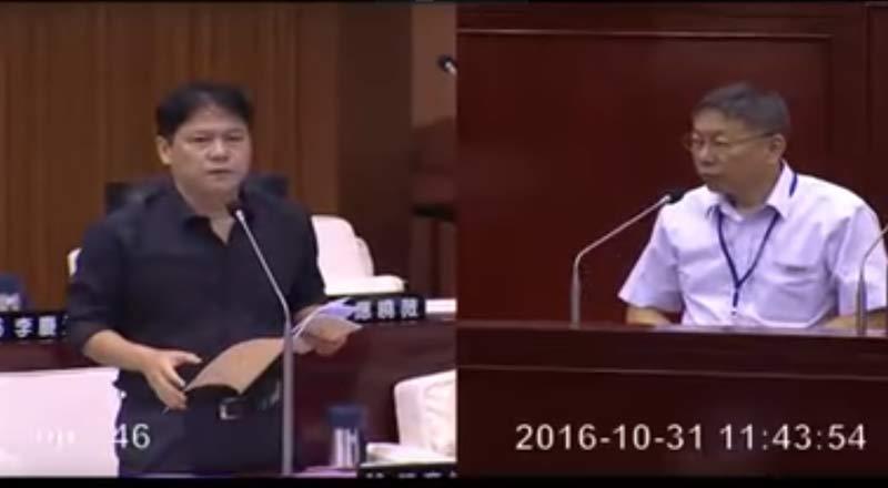 陳彥伯質疑這個議題都吵了2年了,要求趕快解決。(圖片來源:Youtube)