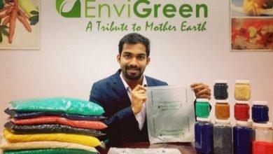 Photo of 印度發明有機塑膠袋 不僅可自然分解還可食用