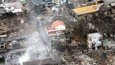 Photo of 日本新潟大火燒毀120棟屋 唯一民房廢墟中奇蹟倖存