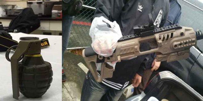 販毒牟利怕被搶 大量軍火隨身走