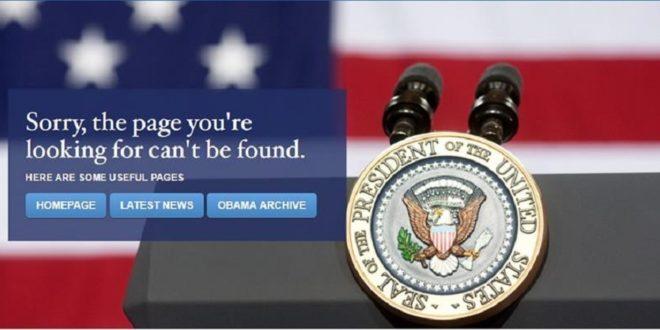 川普就任網頁速更新 LGBT網頁已移除