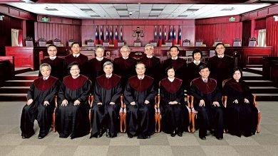 Photo of 大法官3月24日將審同婚是否合憲 6位大法官曾表支持