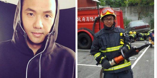 陳建州13年前義助殉職警 兒長大成消防員回饋社會謝恩人