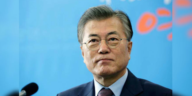 「韓國還沒有準備好面對同性戀的問題」 南韓總統候選人文在寅表態「反對同婚」