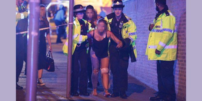小天后亞莉安娜演唱會驚傳爆炸 曼徹斯特體育館22死59傷