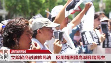 Photo of 即時影音/5/31立法院協商討論修民法